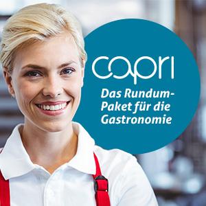 Capri Lösung für die Gastronomie