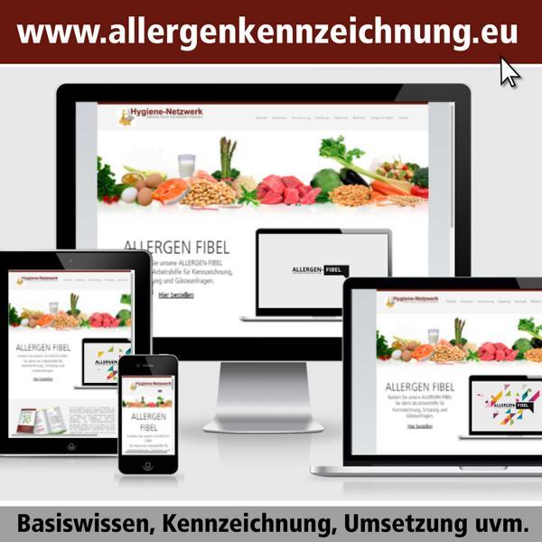 Allergenkennzeichnung leicht gemacht - die Seite zum Thema Allergene
