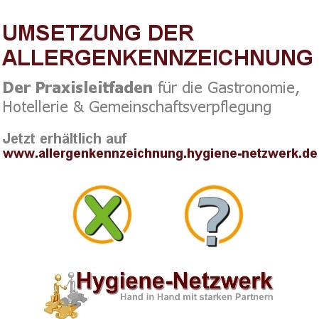 Umsetzung der Allergenkennzeichnung - der Praxisleitfaden für Hotellerie, Gastronomie und Gemeinschaftsverpflegung